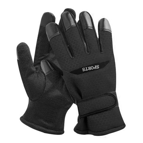 Men Winter Gloves Windproof Thermal Warm Glove For Cycling Skiing Climbing