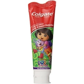 Colgate Toothpaste Stand-Up Tube Dora The Explorer 4.60 oz