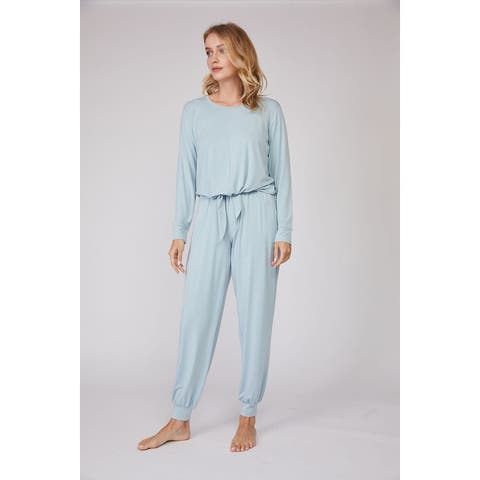 Bamboo Long Sleeve 2 PCS Loungewear Set
