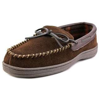 Florsheim Moc Slip on Loafer Round Toe Leather Slipper