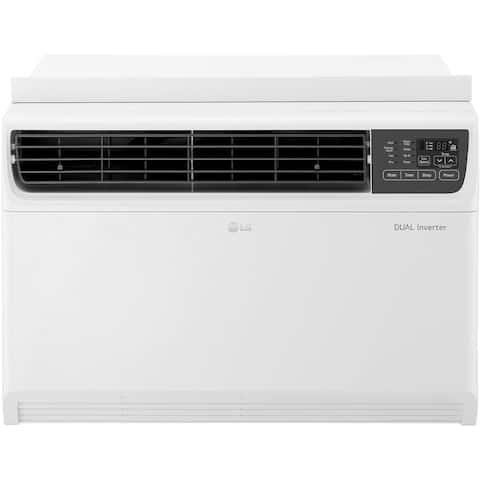 LG 14,000 BTU Dual Inverter Window Air Conditioner with Remote Control - White - 14,000 BTU