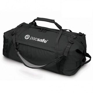 Pacsafe Duffelsafe AT80-Black Anti-Theft Adventure Duffel w/ eXomesh Slashguard