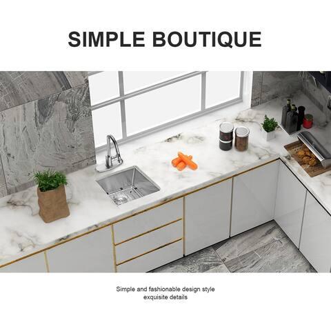 Undermount Bar Perp Kitchen Sink Single Bowl Kitchen Sink Basin