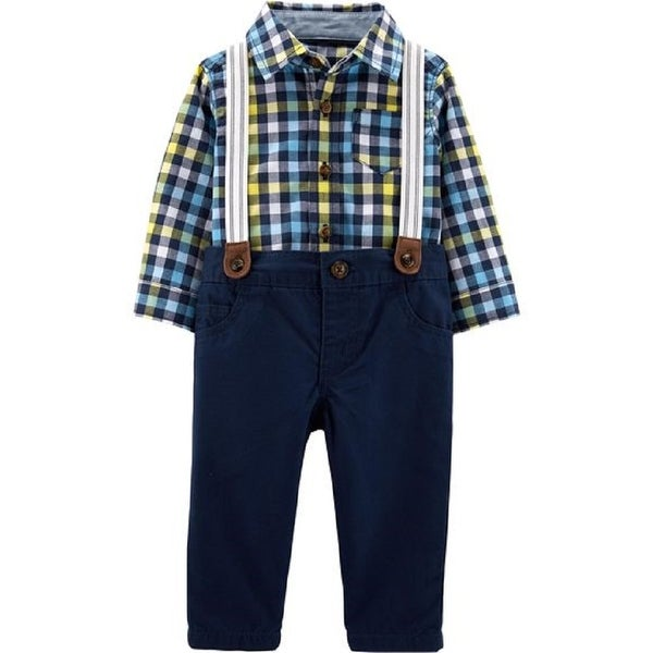 4822884e6 Shop Carter's Baby Boys' 3-Piece Dress Me Up Set, Navy, Newborn - Free  Shipping On Orders Over $45 - Overstock - 28275639