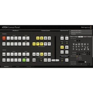 Blackmagic Design ATEM 2 M/E Broadcast Panel