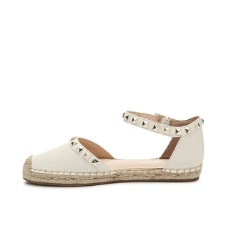 Marc Fisher Womens Graze2 Closed Toe Ankle Strap Espadrille Flats - 6