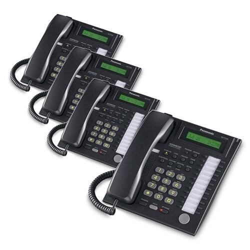 Panasonic-KX-T7731B (4 Pack) Speakerphone Telephone With LCD
