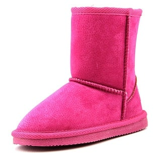 Lamo Kids Classic Boot Toddler Round Toe Suede Pink Winter Boot