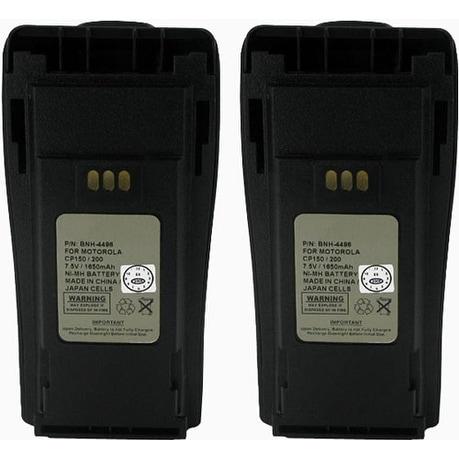 Motorola NNTN4496 Replacement Battery (2 Pack)
