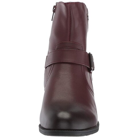 Propét Womens Tory Leather Closed Toe Ankle Fashion Boots