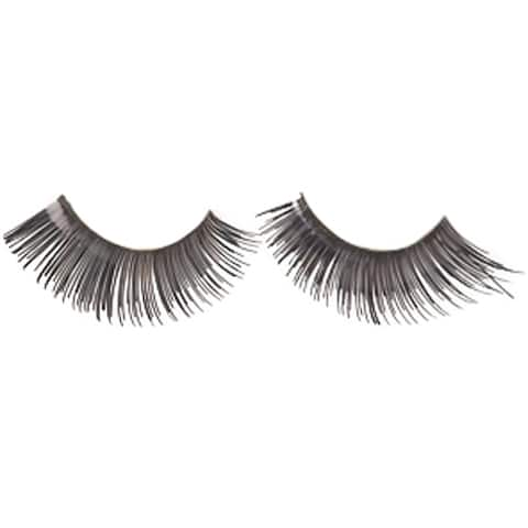 Fake Black Eyelashes - Standard - One Size