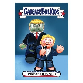 GPK: Disg-Race To The White House: Undead Donald, Card 23 - multi