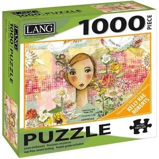 "Jigsaw Puzzle 1000 Pieces 29""X20""-Joyful Girl"