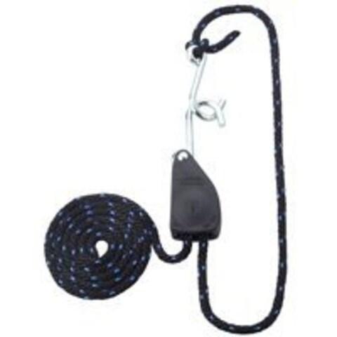 """Mintcraft 10020-L-OI Rope Ratchet 3/8""""x8' Black/Blue"""