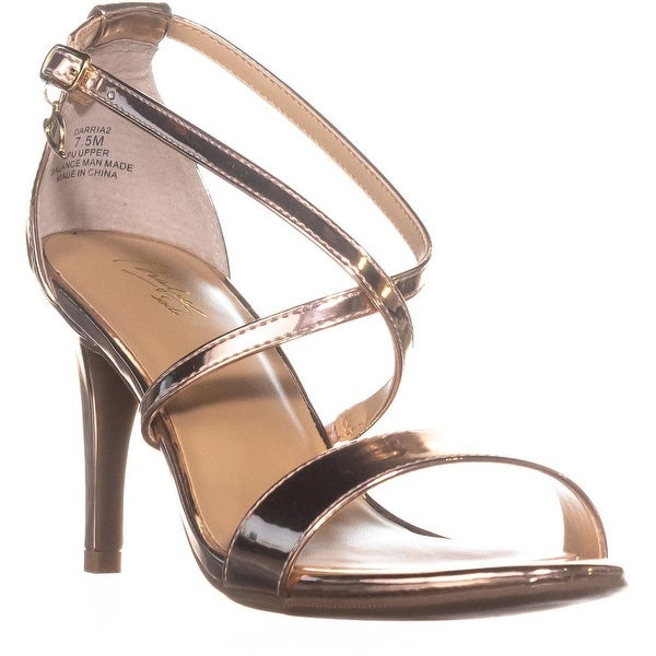 TS35 Darria2 Strappy Dress Sandals, Rose Gold - 7.5 us