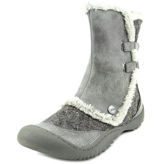 JBU by Jambu Iceburg Women Round Toe Canvas Gray Winter Boot