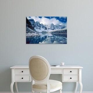 Easy Art Prints Alan Majchrowicz's 'Moraine Lake' Premium Canvas Art