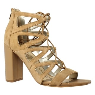 ac27b134c83445 Quick View. Was  29.99.  7.60 OFF. Sale  22.39. Sam Edelman Womens  00 Tjcw9lgr Fo GoldenCaramel Ankle Strap Heels ...