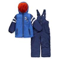 iXtreme Boys 4-7 Varsity 2-Piece Snowsuit - Blue