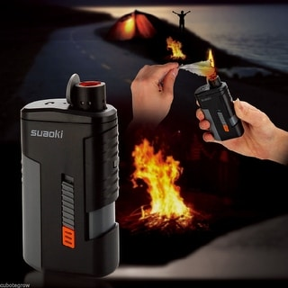 Multi-Function Power Bank Fuel-Free Electronic Ignitor Fire starter Flashlight