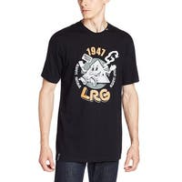 LRG Men's Naturally Lifted T-Shirt - Black - Medium