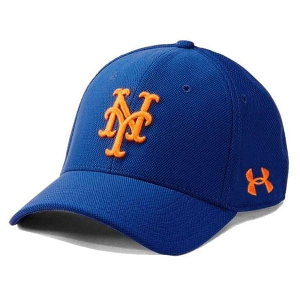 size 40 d6000 fe88c clearance under armour ua menx27s new york mets mlb adjustable blitzing  baseball cap a5f7e 2e2cc