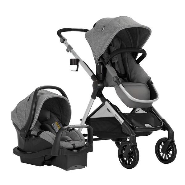 Pivot Xpand Modular Travel System w/SafeMax Infant Car Seat, Percheron. Opens flyout.