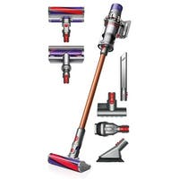 Dyson Cyclone V10 Absolute Cordless Vacuum Cleaner - Comes w/ Soft Roller Head + Torque Drive Head + Mini Motorized Tool + More