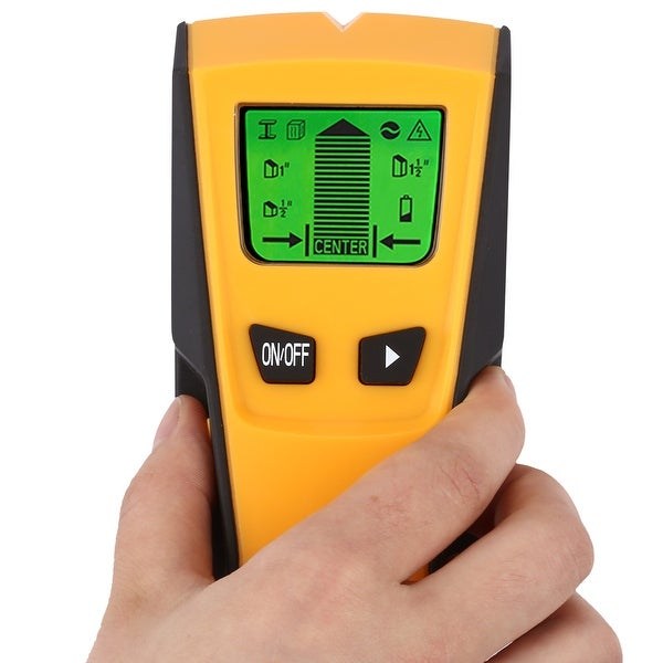 FLOUREON TH-210 Stud Center Finder Metal and AC Live Wire Detector