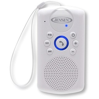 Jensen Smps-640 Water-Resistant Shower Bluetooth