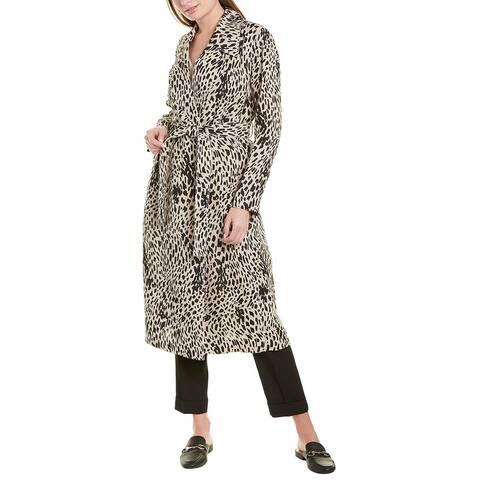 Lafayette 148 New York Zelida Linen Coat