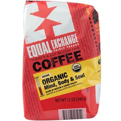 Equal Exchange - Mind Body & Soul Coffee ( 6 - 12 OZ)