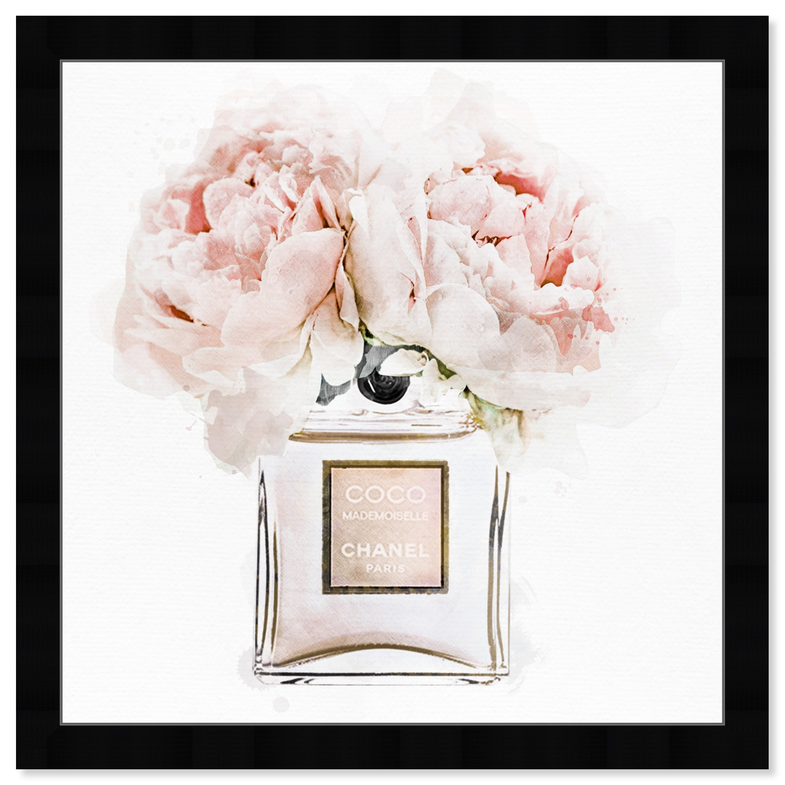 Shop For Oliver Gal Dawn Morning Bouquet Peach Fashion And Glam Framed Wall Art Prints Perfumes White Pink Get Free Delivery On Everything At Overstock Your Online Art Gallery Store Get 5 In Rewards With Club O 31287742
