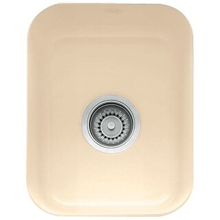 "Franke CCK-110-13 Cisterna 14-9/16"" Single Basin Undermount Fireclay Bar Sink"