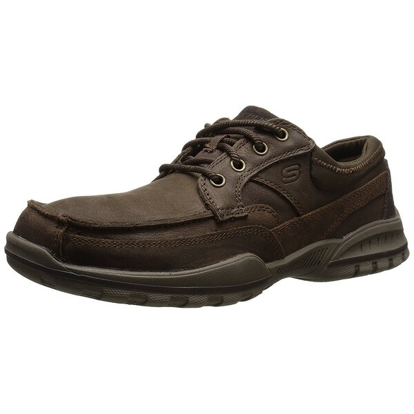 Skechers Relaxed Fit Vortez - Lington- Brown sneakers