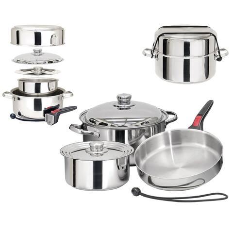 Magma nestable 7 piece s.s. starter cookware set