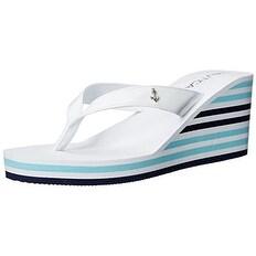 Nautica Women's LANDFALL Wedge Sandal