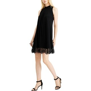 Link to Signature By Robbie Bee Womens Petites Casual Dress Sleeveless Cut-Out - Black Similar Items in Dresses