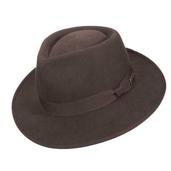 cf896a53c2a Shop Dorfman Pacific Indiana Jones Boys  Wool Fedora - Free Shipping Today  - Overstock.com - 14278296