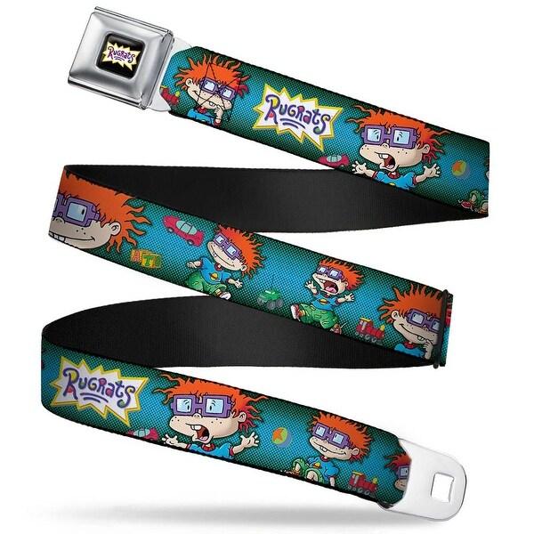 Rugrats Logo Rugrats Chuckie Poses Webbing Seatbelt Belt Fashion Belt