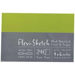 "Global Art - Flexi-Sketch Sketch Book - 60 lb. - 120 Sheet - 8"" x 12"" - Pool (Landscape)"