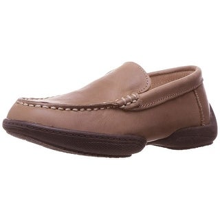 Kenneth Cole Reaction Boys Driving Dime Leather Slip On Loafers