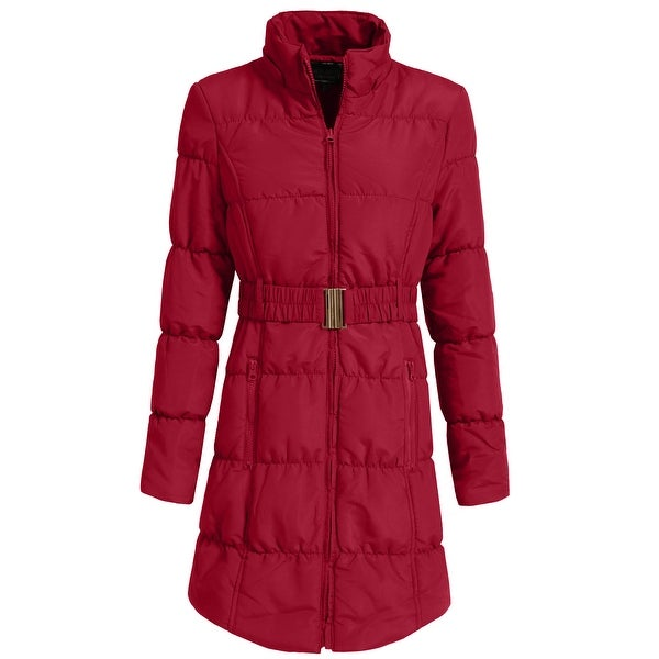 NE PEOPLE Womens Quilted Jacket Detachable Hoodie S-3XL [NEWJ1134]