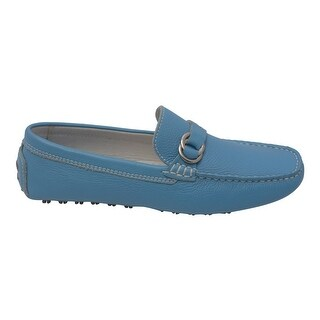 L'Amour Women Blue Lug Sole Casual Trendy Loafers Shoes 6 -10 Women's