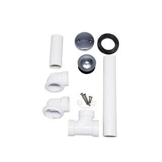 """Proflo PFWO304 1-1/2"""" PVC Tub Drain Trim/Fitting"""