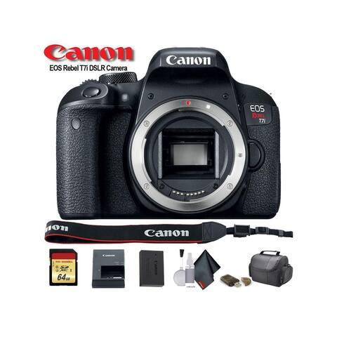 Canon EOS Rebel T7i DSLR Camera (1894C001) - Starter Bundle
