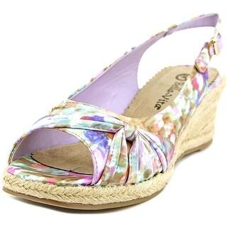 Bella Vita Sangria Too Women N/S Open Toe Synthetic Multi Color Wedge Heel