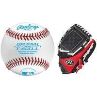 Rawlings Little League Training Baseballs & Glove Bundle