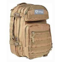 Drago gear 14305tn drago scout backpack tan 5-main storage area heavy duty