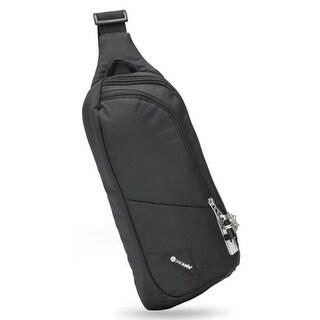 Pacsafe Vibe 150 - Black Anti-theft Cross Body Pack w/ Smart Zipper Security